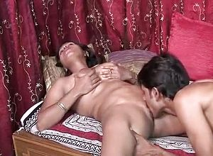 Straight,indian,cunnilingus,couple,blowjob